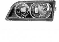 H7 / H7 Scheinwerfer schwarz + chrom Ring links TYC für Volvo S40 02-03