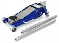 Profi Aluminium Rangier Wagenheber hydraulisch 96-477mm silber blau 2500 kg