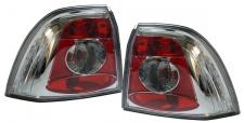 Klarglas Rückleuchten chrom für Opel Vectra B Limousine 99-02