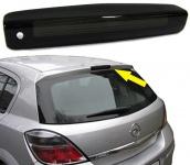 3. Bremsleuchte Abdeckung Klarglas schwarz smoked für Opel Astra H 5 Türer 04-09