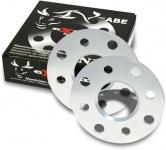 10 mm Alu Spurverbreiterung Spurplatten 4 X 100 für Seat Arosa 6HS