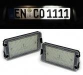 LED Kennzeichenbeleuchtung weiß 6000K für Seat Altea Arosa Ibiza 3 4 Leon 1M1