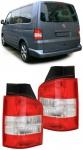 RÜCKLEUCHTEN ROT KLAR - HECKKLAPPE FÜR VW T5 Bus + Transporter 03-09