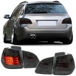 LED Rückleuchten schwarz für BMW E61 Touring Kombi 04-07