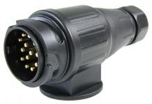 Auto Anhänger Stecker Adapter 13 polig ISO 11446 für 12 V
