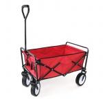 Garten Transport Faltwagen Handwagen Bollerwagen klappbar bis 80kg rot