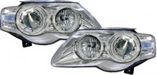 Klarglas Angel Eyes Scheinwerfer chrom für VW Passat 3C 05-10