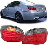 LED Lightbar Rückleuchten LCI rot schwarz smoke für BMW 5er E60 Limousine 03-07