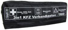 3 in 1 KFZ Kombi Verbandskasten Warndreieck Warnweste Erste Hilfe Kasten Set