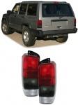 Rückleuchten rot schwarz für Jeep Cherokee XJ 96-01