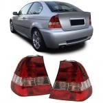 Rückleuchten rot weiß Kristall für BMW 3er E46 Compact 00-04