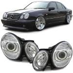 Xenon D2S H7 Scheinwerfer Facelift Optik für Mercedes E Klasse W211 02-06