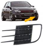 NEBELSCHEINWERFER BLENDE RAHMEN STOßSTANGENGITTER LINKS FÜR VW Golf 6 GTI 09-12
