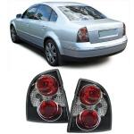Klarglas Rückleuchten schwarz für VW Passat Limousine 3BG ab 00