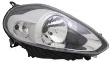 H4 / P21W Scheinwerfer chrom rechts TYC für FIAT Punto 199 12-