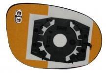 Spiegelglas beheizbar links für FORD Ka 08-