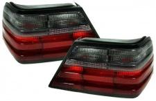 Rot schwarze Rückleuchten - Paar für Mercedes W124