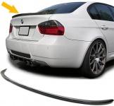Sport Heck Spoiler Lippe Carbon für BMW 3ER E90 Limousine 05-08