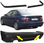 Stoßleisten Paar passend für BMW E39 95-03 mit Sport Heck Stoßstange ohne PDC
