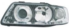 H1 / H7 Scheinwerfer links TYC für Audi A3 8L 00-03