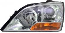 H7 / H1 Scheinwerfer links TYC für KIA Sorento I 06-09