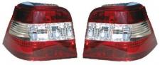 Klarglas Rückleuchten rot klar rot für VW Golf 4 97-03
