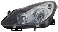 SCHEINWERFER H1 H7 SCHWARZ LINKS FÜR Opel Corsa D 06-11