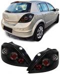 Klarglas LED Rückleuchten schwarz für Opel Astra H 04-07