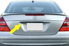 Chrom Leiste Griff für Kofferraum Klappe für Mercedes E Klasse W211 02-06