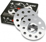10 mm Alu Spurverbreiterung Spurplatten 5 X 110 für Opel Corsa D