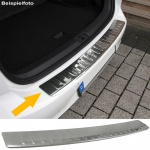 LADEKANTENSCHUTZ STOßSTANGENSCHUTZ EDELSTAHL FÜR Toyota Auris Limousine 12-15