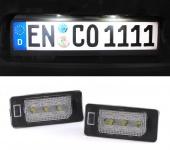 LED Kennzeichenbeleuchtung High Power weiß 6000K für FÜR BMW X5 F15 ab Bj. 14