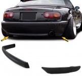 R Style Heck Spoiler Lippe Diffusor unten für Stoßstange für Mazda MX5 NA 89-98