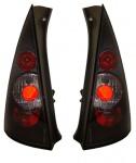 Klarglas Rückleuchten schwarz für Citroen C3 02-05