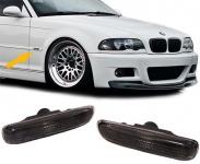 Seitenblinker schwarz Paar für BMW 3ER E46 Coupe Cabrio 99-03 Limo Touring 98-01