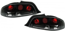 Klarglas Rückleuchten schwarz für Peugeot 306 Cabrio 94-02