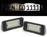 LED Kennzeichenbeleuchtung weiß 6000K für BMW Mini Cooper One R56 06-13