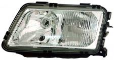 H1 / H7 Scheinwerfer links TYC für Audi A3 8L 96-00