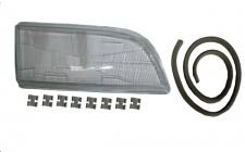 Scheinwerferglas Streuscheibe H4 rechts TYC für Volvo V40 95-04