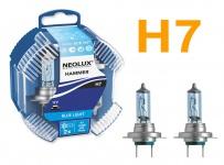 Neolux Xenon Blue Light H7 55W 12v Halogen 2 Stück IM Duopack