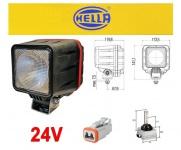 Hella Powerxen Xenon Arbeits Scheinwerfer 24V mit Steuergerät Leuchtmittel