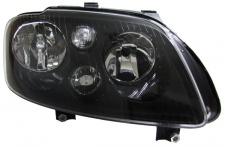 H7 H7 Scheinwerfer schwarz mit Stellmotor rechts für VW Touran 03-06 + Caddy