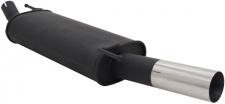 Sport Auspuff 1 x 76mm rund für Citroen C4 02-