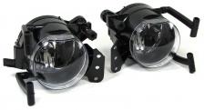Klarglas Nebelscheinwerfer Set klar chrom für BMW 6er E63 E64 03-10