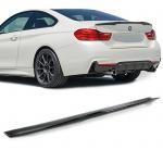 Echt Carbon Heckspoiler Sport Ausführung für BMW 4er M4 F82 Coupe ab 14