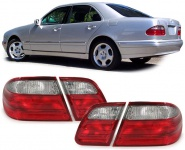 Rückleuchten rot klar für Mercedes E Klasse W210 Limousine 95-02