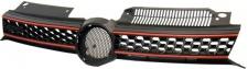 Grill Sport Kühlergrill mit Waben IN Sport Optik für VW Golf 6 ab 08