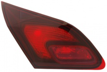 RÜCKLEUCHTE / HECKLEUCHTE INNEN LINKS TYC FÜR OPEL Astra J 09-