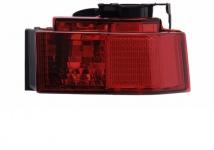 Nebelschluss Leuchte Lampe chrom rechts TYC für Opel Meriva 03-05