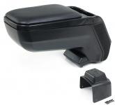 Mittel Konsole Armlehne verstellbar mit Ablagefach schwarz für Nissan Note E11